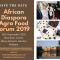 Save the date: African Diaspora Agro Food Forum 2019